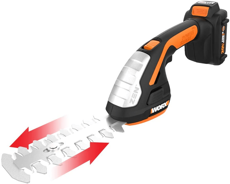 Worx 20V Shear Shrubber Trimmer