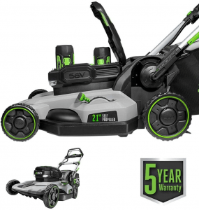 EGO Power+ LM2142SP 21-Inch 56-Volt Lithium-Ion Cordless Electric Dual-Port Walk Behind Self Propelled Lawn Mower