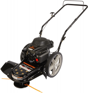 Remington RM1159 159cc 4-Cycle Gas Powered Walk-Behind High-Wheeled String Trimmer - 22-Inch Trimming Mower for Lawn Care.