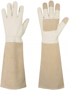 Rose Pruning Gloves for Men & Women, Long Thorn Proof Gardening Gloves