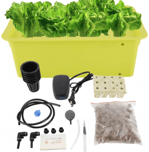 HighFree Hydroponic System Growing Kit for Plants Herb Garden