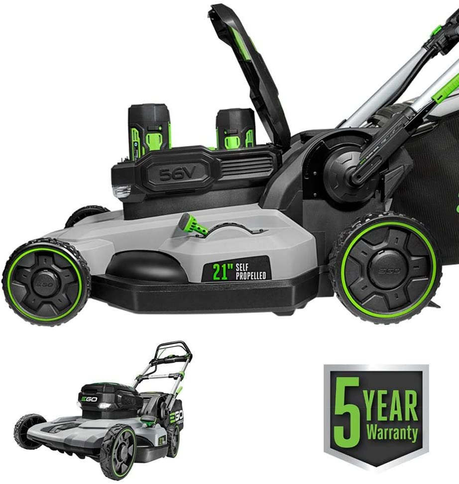 EGO Power+ LM2142SP 21-Inch 56-Volt Lithium-Ion Cordless Electric Dual-Port