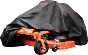 ToughCover Premium Zero-Turn Mower Cover. Heavy Duty 600D Marine Grade Fabric.