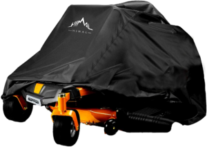 Himal Outdoors Zero-Turn Mower Cover, Heavy Duty 600D Polyester Oxford, UV Protection Universal Fit with Drawstring & Cover Storage Bag