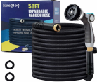 EasyJoy 50FT Expandable Garden Hose - Super Strong 3750D Fabric - 4-Layers Flex Strong Latex