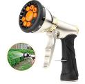 Nerghos Garden Hose Nozzle Sprayer, 9 Adjustable Watering Patterns