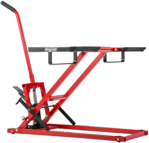 Pro-Lift Lawn Mower Jack Lift with 300 Lbs Capacity