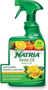 Natria 706250A Neem Oil Spray for Plants Pest Organic Disease Control